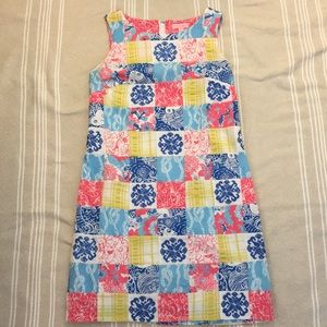 Lilly Pulitzer Nautical Patchwork Shift Dress